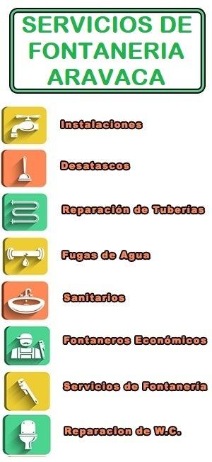 servicios de fontaneria en Aravaca